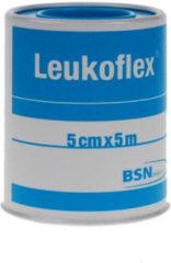Leukoflex Hechtpleister 5 m x 5 cm 1 Stuks