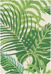Beige Sanderson - Laagpolig vloerkleed Sanderson Manila groen 46407 - 200x280 cm
