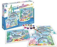 SentoSphère N/F Aquarellum - Dolfijnen