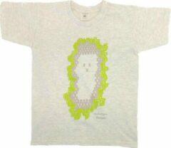Antraciet-grijze B & C Anha'Lore Designs - Spookje - T-shirt - Antraciet - 9/11j (134/146)