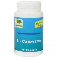 Natural Point Carnitina 300 integratore alimentare 30 capsule
