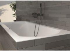Witte Riho Linares ligbad 170x75cm rechthoek rechts acryl wit BT44005