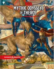 Dungeons and Dragons Dungeons & Dragons - 5th Edition - Mythic Odysseys of Theros (WTCC7875)