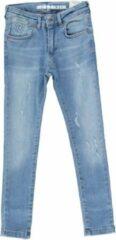Blauwe Crush Denim Crush Denim skinny jeans - meisje Broek Maat 176