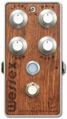 Bogner Wessex Bubinga Top Panel overdrive gitaar effect pedaal
