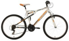 KS Cycling FULLY MOUNTAINBIKE PALADIN 26 ZOLL MTB Fullsuspension Herren weiß