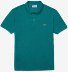 Turquoise Lacoste Polo petrol slim fit ph4012/f5t