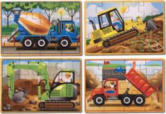 Melissa & Doug - Construction Puzzles in a Box