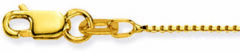 Glow Gouden Ketting Venetiaans 42 cm 0.8 mm breed 201.1042.23