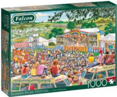 Falcon puzzel Summer Music Festival 37 cm karton 1000 stukjes