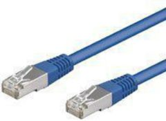Blauwe Netwerkkabel CAT 5e - SF/UTP - Goobay