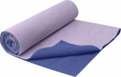 Paarse Gaiam - Grippy Yoga - Handdoek - Violet/Lila