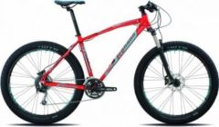 27,5+ Legnano Duran Hardtail Mountainbike 27... 48cm, rot-hellblau