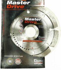 Diewe Masterdrive Abrasive 115mm Diamond Blade No. 457413200