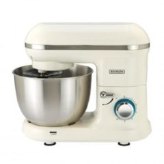Zilveren Bourgini keukenmachine Classic Kitchen Chef - creme