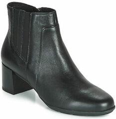 Zwarte Boots en enkellaarsjes DNEWANNYAMID by Geox