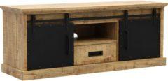 Bruine Budget Home Store TV meubel Ibiza 160cm