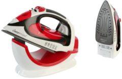 Power Dampfbügeleisen Cleanmaxx schwarz/weiß/rot