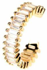 Fashion Jewelry Ring met steentjes | goud gekleurd