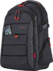 Zwarte TravelZ Laptop Rugzak| Lichtgewicht rugtas 17.3-inch laptopvak & 9.7-inch tabletvak |Waterafstotend