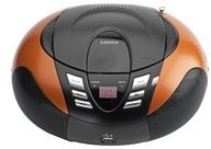 Lenco SCD-37 USB orange (4 Stück) - UKW-Radio m.CD tragbar USB,orange SCD-37 USB orange, Aktionspreis