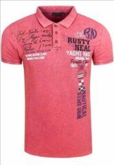 Rusty Neal Poloshirt - heren - koraal - 15212