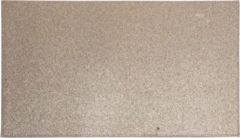 Bellatio Decorations 6x Rechthoekige glitter placemats/onderleggers bruin/goud 44 x 29 cm - Diner/kerstdiner placemats