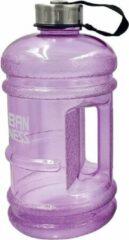 Urban Fitness Waterfles 2,2 Liter Paars