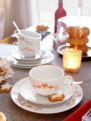 Kaffeeservice 12 tlg. Arte Viva rosé-gold