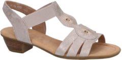 Metallic Roze Sandalen Gabor Comfort Dames 40,5