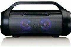 Lenco SPR-070BK Bluetooth luidspreker AUX, FM radio, USB, Spatwaterdicht, SD Zwart