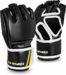 Gymrex MMA Handschoenen - maat L / XL - zwart / rood - zonder duimen