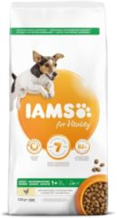 Iams Dog Adult Small/Medium - Hondenvoer - Kip 12 kg 1 - 7 Jaar
