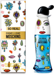 Damesparfum So Real Cheap & Chic Moschino EDT 50 ml
