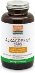 Groene Mattisson Absolute Alkagreens capsules 540 mg 180 Vegacaps