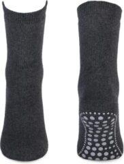 Basset Antislip Sokken Donkergrijs 43-46