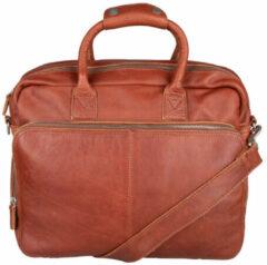 Cowboysbag Schooltas Laptopbag Sollas 15 inch Bruin