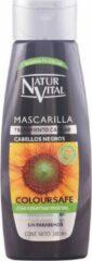 Naturaleza y Vida MASCARILLA COLOR cabellos negros 300 ml