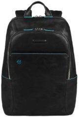 Zwarte Piquadro Blue Square Backpack black
