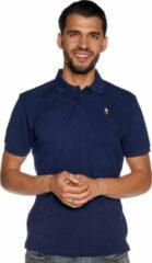 Donkerblauwe Feyenoord Polo Player, donker blauw, Heren (M)