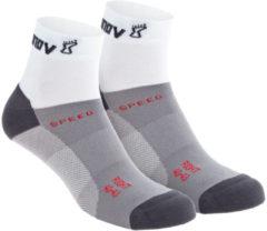 Inov-8 - Speed Sock Mid - Hardloopsokken maat S, grijs/wit