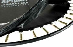 SPRING Beschermrand 244 / 245 cm (8ft) zwart pvc 21 mm dik - 33 cm breed met witte bies