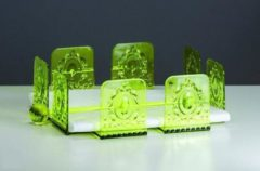 Groene Baci Milano Baroque & Rock - Acrylaat - Servethouder - Lime