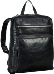 Zwarte Leonhard Heyden Cambridge Rugzak Black 5269