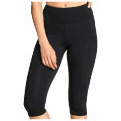 Röhnisch - Women's Nora Lasting Capri - Legging maat S, turkoois/blauw/rood/zwart/grijs/zwart/blauw/zwart/zwart/zwart/bl