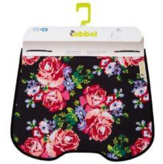 Zwarte Qibbel Q734 - Stylingset Windscherm - Blossom Roses Black