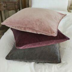 LOBERON Kussen set van 3 Amalina rood/roze/grijs