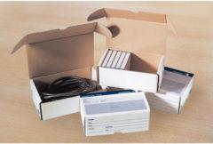 Postpakketdoos 7 Raadhuis met - bedrukking 485x369x269mm 5 stu