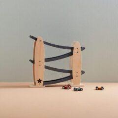 Houten Autobaan Nature/grijs Aiden Kids Concept