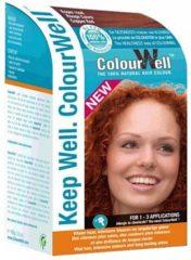 Colourwell 100% Natuurlijke Haarkleur Koper Rood (100g)